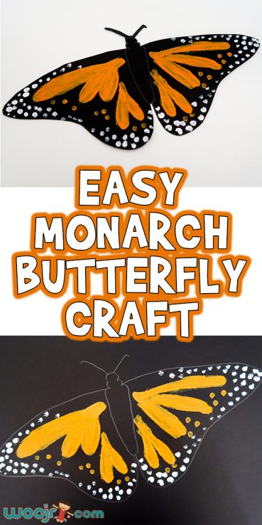 Easy Monarch Butterfly Craft