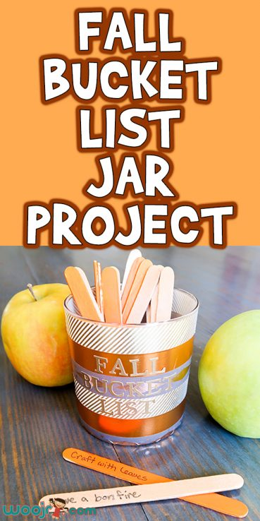 Fall Bucket List Jar Project