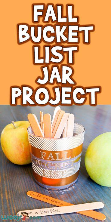 Fall Bucket List Jar Project