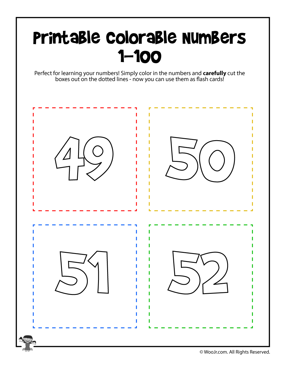 This is a picture of Printable Numbers 1 50 with mirror image