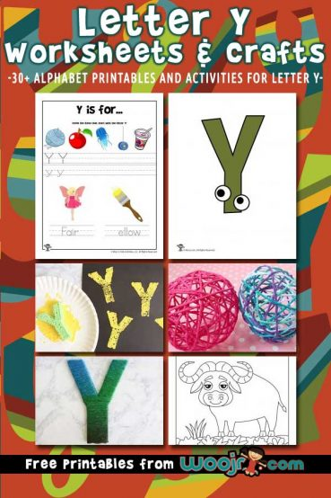 Letter Y Worksheets & Crafts