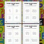 Printable Numbers 1 – 100