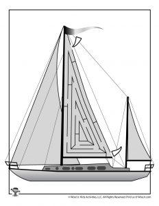 Yacht Maze for Kids