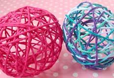 Y Yarn Eggs Craft
