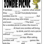 Horror Ad Libs for Kids