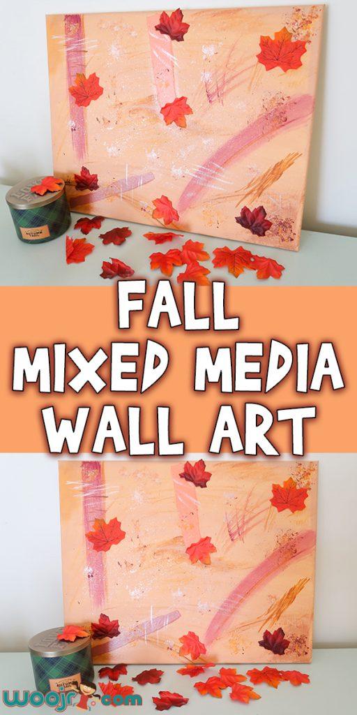 Fall Mixed Media Wall Art