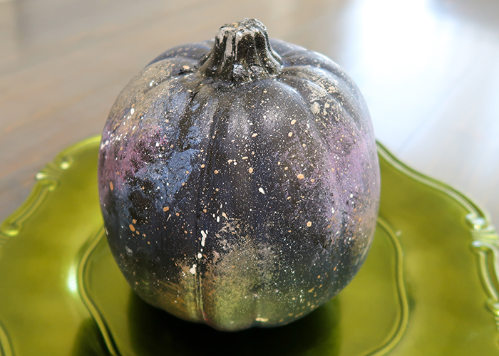 Galaxy Painted Pumpkin Tutorial