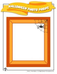 Halloween Photo Frame Printable Prop