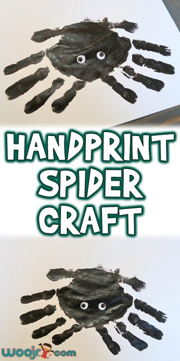 Handprint Spider Craft