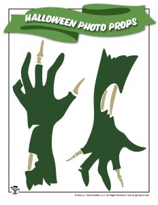 Zombie Hands Photo Props