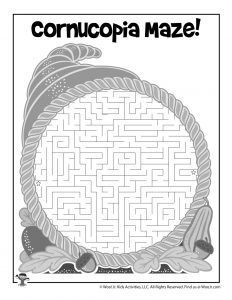 Cornucopia Maze