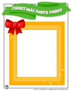 Christmas Photo Frame Prop DIY
