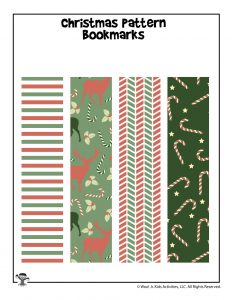 Christmas Gift Printable Bookmarks