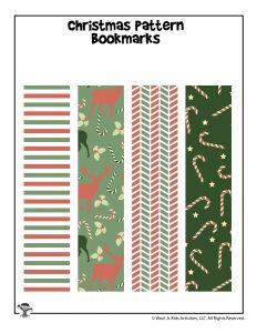 Christmas Gift Printable Bookmarks