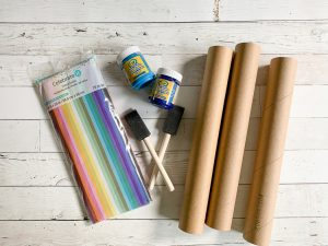 Hanukkah Candle Craft Materials