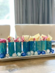 Easy Hanukkah Candles Craft for Kids