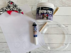 Snow Globe Craft Materials