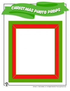 Printable Christmas Photo Frame
