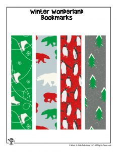 Printable Christmas Bookmarks for Giving