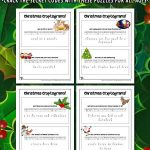 Christmas Cryptogram Puzzles