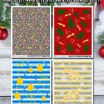 Printable Christmas Wrapping Paper – Hanukkah, Too!