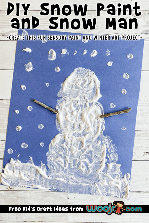 Easy DIY Snow Paint