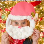 Santa Face Mask Craft
