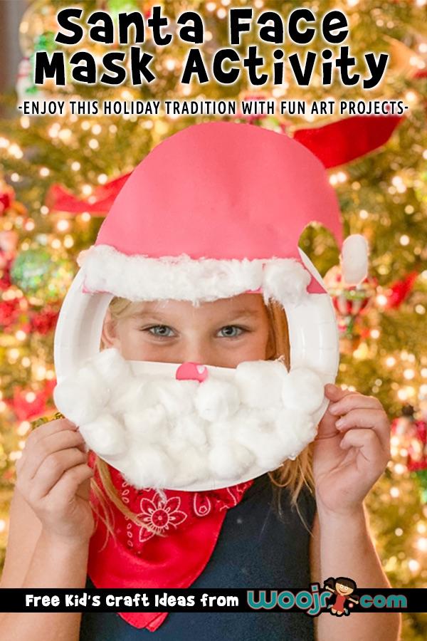 Santa Face Mask Craft