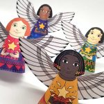 Christmas Printable Paper Angels
