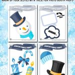 Printable Winter Photo Props