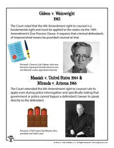 7th Grade Civil Rights Supreme Court Lesson