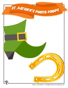 Free Printable St. Patrick's Day Props