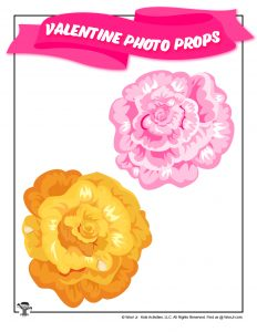 Free Printable Valentines Day Flowers