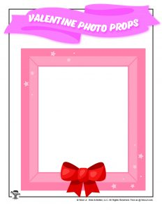 Free Printable Valentines Day Photo Frame