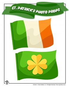 St. Patrick's Day Ireland Flag Printable