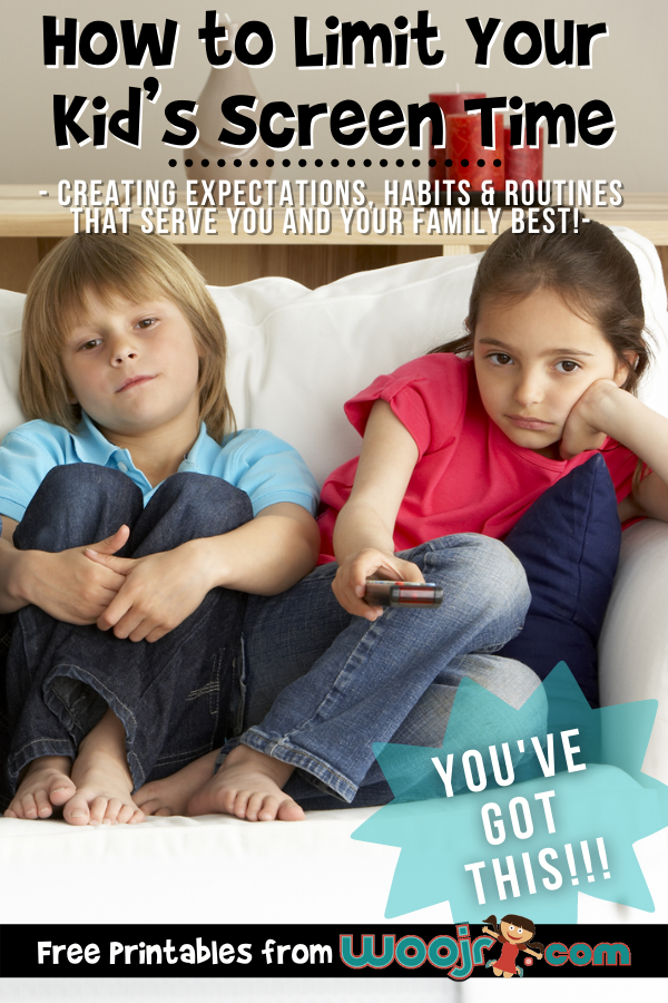 How to Limit Your Kid's Screen Time