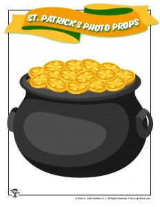 Pot of Gold Printable Photo Booth Prop