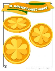 Printable Coins for St. Patrick's Day
