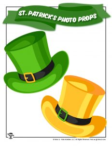 Printable St. Patrick's Day Hats