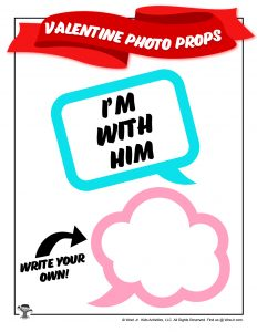 Printable Valentines Day Speech Bubbles