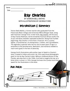 Ray Charles by Sharon Bell Mathis Book Summary
