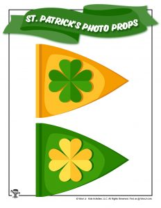 St. Patrick's Day Pendant Flags