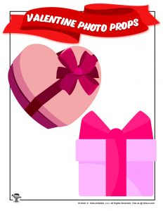 Valentines Day Presents Printable Photo Props