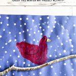 Handprint Cardinal Art Project for Kids