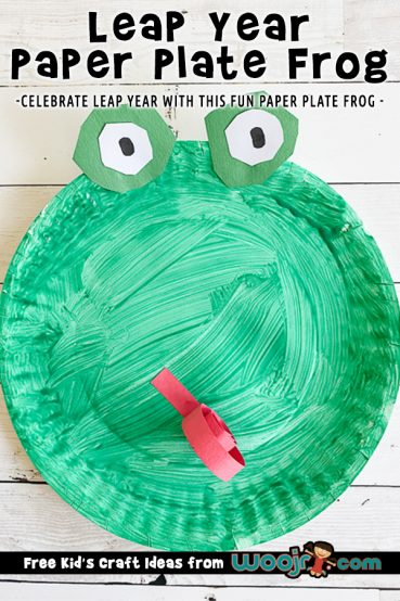 Leap Year Frog Craft for Kids
