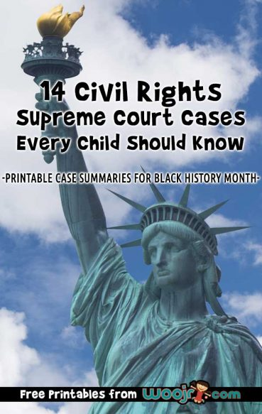 Civil Rights Supreme Court Cases Every Child Should Know