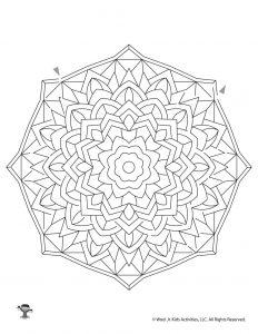 Mandala Maze Activity for Kids