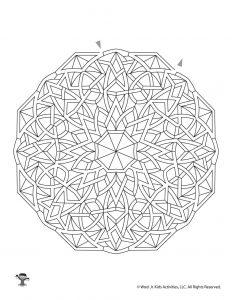 Maze Mandalas for Kids