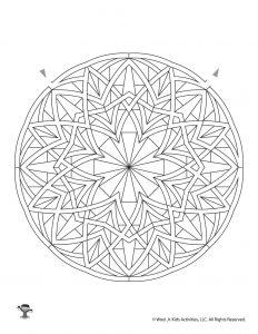 Mandala Maze for Kids