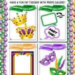 Mardi Gras Photo Props